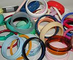 Plastic Bangle Bracelet Assortment<br>40 bracelets for