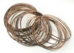 Bangle bracelet sets<br>Rose Gold Plate<br>6 lots for