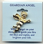 Guardian Angel lapel pin<br>1 dozen for