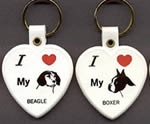 Key Fob Assortment.<br>Dog Breeds<br>5 dozen for.