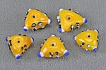 Glass bead<br>Yellow<br>1 pound for