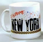 Coffee Mugs<br>New York City<br>5 Mugs for