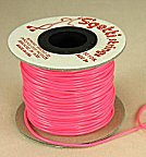 Rubber Stretch Cord<br>Neon Pink<br>50 yards for