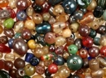 Mixed glass beads.<br> 2.2 pounds for