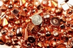 Copper Plated Plastic Beads<br>3 Pounds For